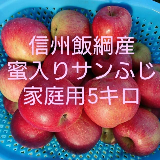 りんごサンふじ家庭用5キロ 食品/飲料/酒の食品(フルーツ)の商品写真