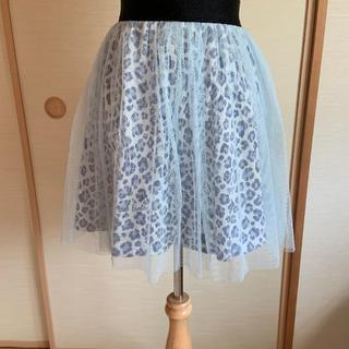 バービー(Barbie)のバービー レオパード柄のチュールスカート(スカート)