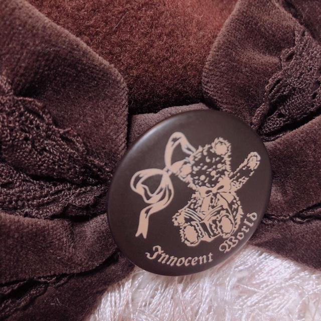 Innocent World(イノセントワールド)のinnocent world︎ ♥ ベレー︎ ♥ ブラウン︎ ♥ くま レディースのヘアアクセサリー(カチューシャ)の商品写真