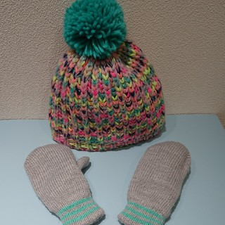 コストコ(コストコ)のコストコ 帽子&手袋セット(帽子)