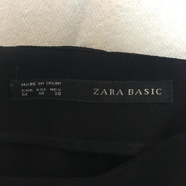 ZARA(ザラ)のZARA タイトスカート ブラック Mサイズ レディースのスカート(ひざ丈スカート)の商品写真