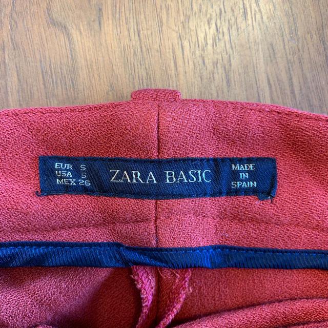 ZARA(ザラ)のZARA⭐️ワイドパンツ S〜M⭐️オレンジ レディースのパンツ(その他)の商品写真