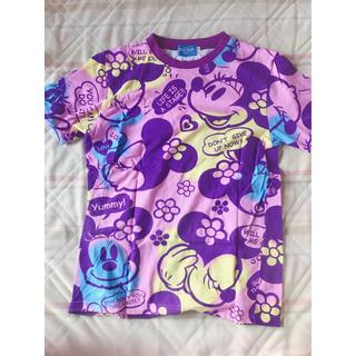 ディズニー(Disney)のミニーマウス パープル Tシャツ(Tシャツ(半袖/袖なし))