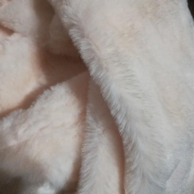 しまむら(シマムラ)のしまむら エコファースヌード ホワイト レディースのファッション小物(スヌード)の商品写真