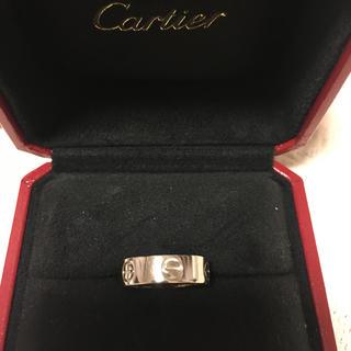 カルティエ(Cartier)のカルティエ Cartier K18 WG ラブリング(リング(指輪))