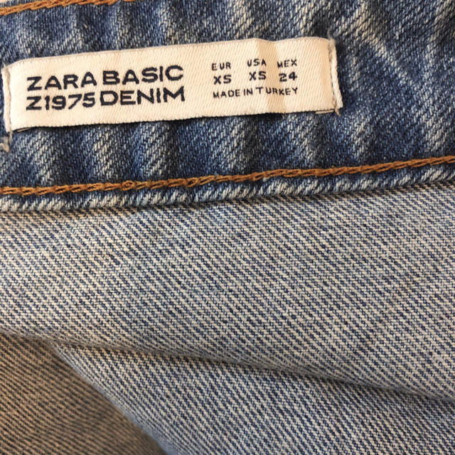 ZARA(ザラ)のZARA ザラ デニムスカート レディースのパンツ(デニム/ジーンズ)の商品写真