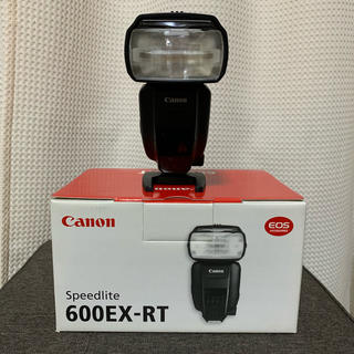 キヤノン(Canon)のキヤノンスピードライト600EX-RT(ストロボ/照明)