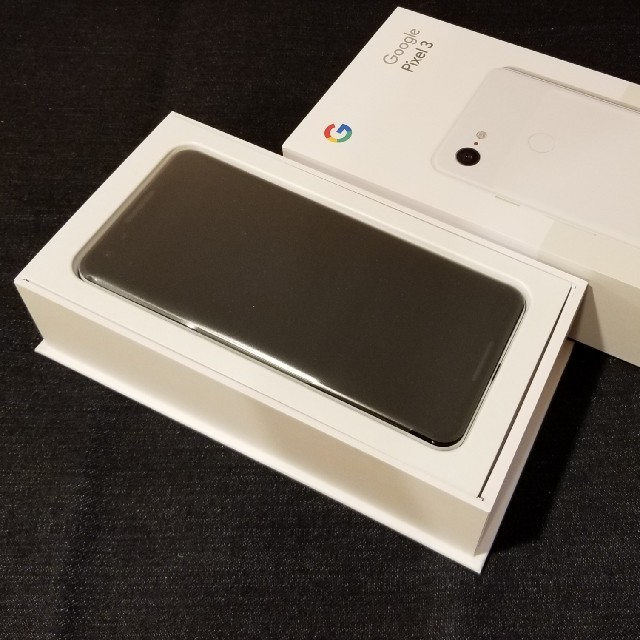 NTTdocomo(エヌティティドコモ)の②【SIMフリー/新品未使用】docomo Google Pixel3/白 スマホ/家電/カメラのスマートフォン/携帯電話(スマートフォン本体)の商品写真