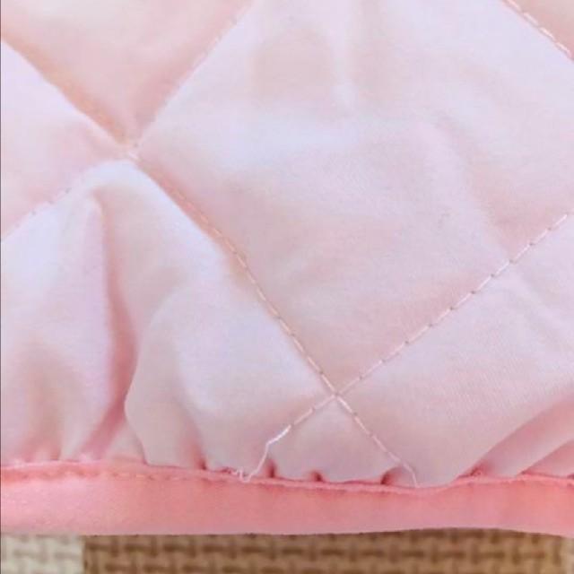 しまむら(シマムラ)のしまむら 中綿入りジャンパー アウター 90 キッズ/ベビー/マタニティのキッズ服 女の子用(90cm~)(ジャケット/上着)の商品写真