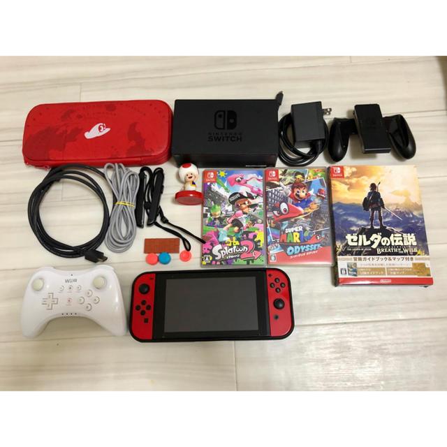 Nintendo Switch(ニンテンドースイッチ)のNintendo Switch スーパーマリオ オデッセイセット エンタメ/ホビーのゲームソフト/ゲーム機本体(家庭用ゲーム機本体)の商品写真