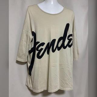 ラッドミュージシャン(LAD MUSICIAN)のLAD MUSICIAN×FENDER ビッグシルエットTシャツ 42 XS(Tシャツ/カットソー(半袖/袖なし))