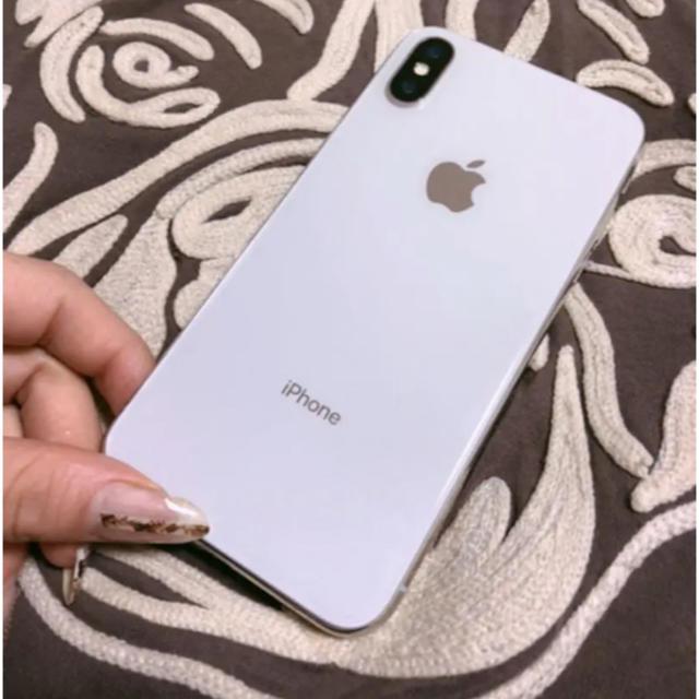 Apple(アップル)のiPhone X スマホ/家電/カメラのスマートフォン/携帯電話(スマートフォン本体)の商品写真