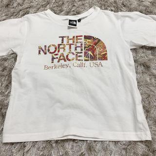 ザノースフェイス(THE NORTH FACE)のノースフェイス110センチ(Tシャツ/カットソー)