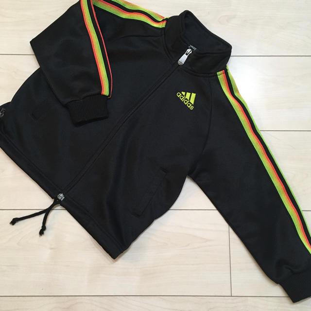 adidas(アディダス)のアディダス ジャージ 100 キッズ/ベビー/マタニティのキッズ服 男の子用(90cm~)(ジャケット/上着)の商品写真