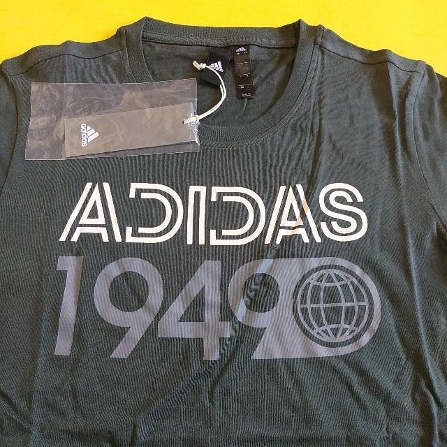 adidas(アディダス)のLサイズ、adidas アディダス tシャツ ロゴTシャツ、半袖Tシャツ メンズのトップス(Tシャツ/カットソー(半袖/袖なし))の商品写真