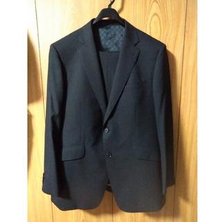アオキ(AOKI)の美品 スーツセットアップBE5 黒(スーツジャケット)