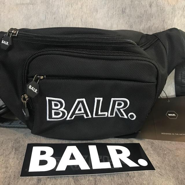 BALRボーラー新作ウエストバッグ芸能人やサッカー選手に大人気!ステッカー付き メンズのバッグ(ウエストポーチ)の商品写真