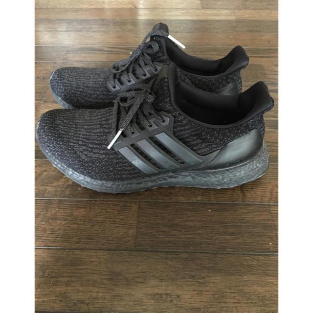 adidas(アディダス)のadidas アディダス ウルトラブースト トリプルブラック メンズの靴/シューズ(スニーカー)の商品写真