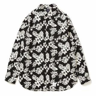 アップルバム(APPLEBUM)のアップルバム Flower Fly Front Shirt シャツ(XL)♪(シャツ)