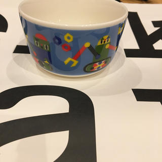 マリメッコ(marimekko)のマリメッコ  marimekko キッズ ボウル カップ 廃盤 食器 (食器)
