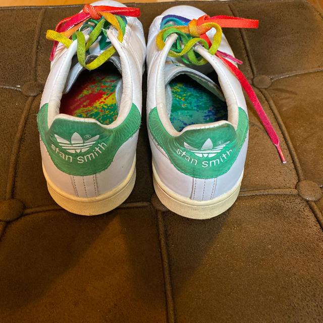 adidas(アディダス)のアディダス スニーカー 23.5 スタンスミス レインボー レディースの靴/シューズ(スニーカー)の商品写真