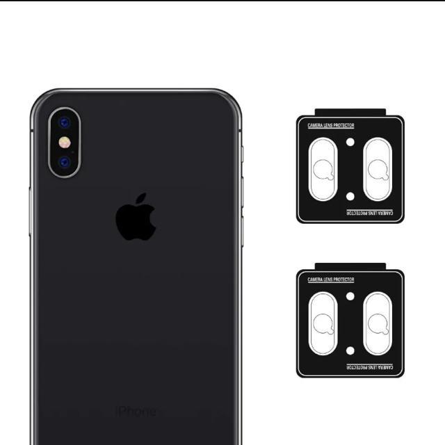 nimaso iphone x レンズ保護フィルム4枚 スマホ/家電/カメラのスマホアクセサリー(保護フィルム)の商品写真