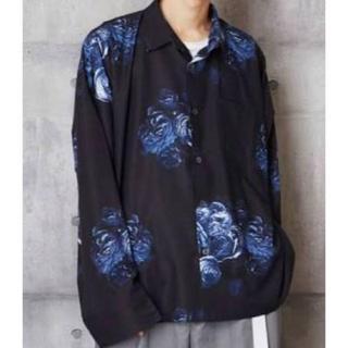 ラッドミュージシャン(LAD MUSICIAN)のBig silhouette flower pattern shirt(シャツ)