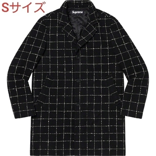 シュプリーム(Supreme)のSupreme 19FW Wool Windowpane Overcoat S(チェスターコート)
