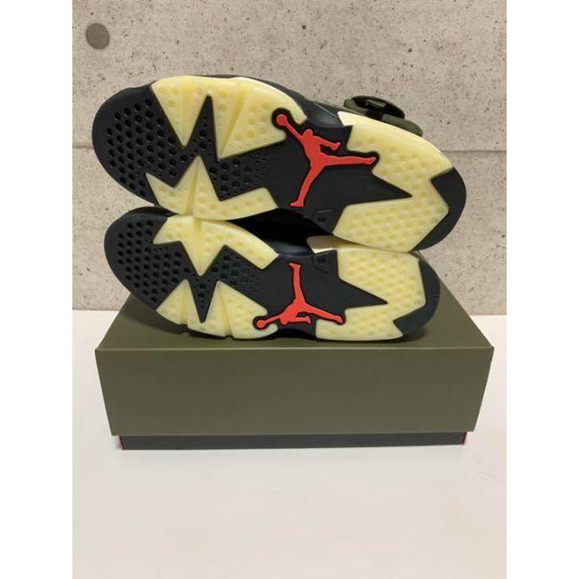 NIKE(ナイキ)のNIKEエアジョーダン6トラヴィススコットコラボ メンズの靴/シューズ(スニーカー)の商品写真