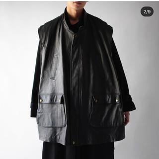 コムデギャルソン(COMME des GARCONS)のノイル  noil レザーベスト leather best(ベスト)