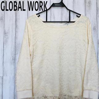 グローバルワーク(GLOBAL WORK)のGLOBAL WORK ブラウス レース レディース(シャツ/ブラウス(長袖/七分))