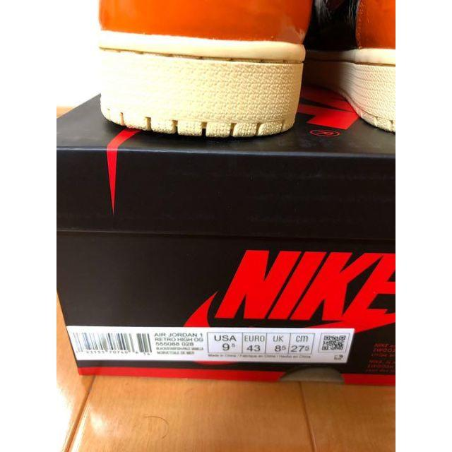 NIKE(ナイキ)のエアジョーダン 1 RETRO HIGH OG メンズの靴/シューズ(スニーカー)の商品写真