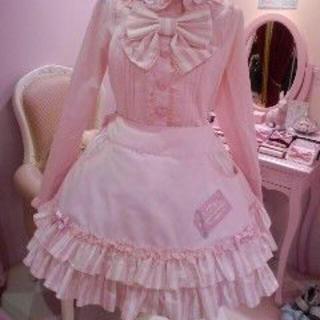Angelic Pretty - ♡アンプリ♡MeltyChocolate2wayサロペット♡