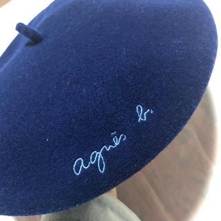 アニエスベー(agnes b.)のアニエスベー ベレー帽(ハンチング/ベレー帽)
