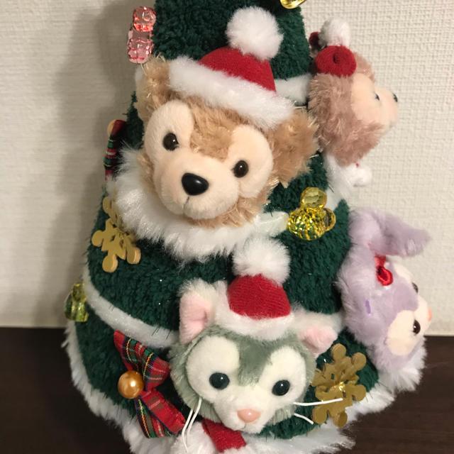 ダッフィー(ダッフィー)のクリスマスツリー ダッフィー ① エンタメ/ホビーのおもちゃ/ぬいぐるみ(キャラクターグッズ)の商品写真