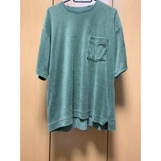 ニコアンド(niko and...)のniko and... ベロア素材 Tシャツ(Tシャツ/カットソー(半袖/袖なし))