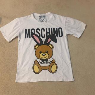 モスキーノ(MOSCHINO)のモスキーノ クマTシャツ ノベルティー(Tシャツ(半袖/袖なし))