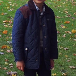 ポロラルフローレン(POLO RALPH LAUREN)のポロラルフローレン キルティングジャケットコート 男の子 120,130(コート)