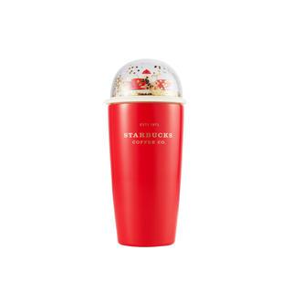 スターバックスコーヒー(Starbucks Coffee)の書留{専用}Xmas韓国限定スターバックス ドームタンブラー2点(タンブラー)