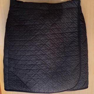 ユニクロ(UNIQLO)の☆未使用☆ 防寒ラップスカート  BLACK Mサイズ(その他)