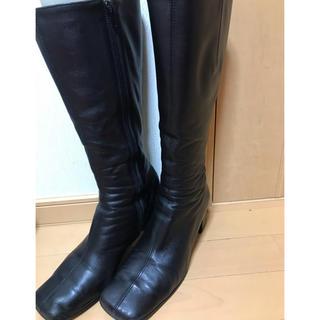ブリジットバーキン(Bridget Birkin)のロングブーツ 黒(ブーツ)