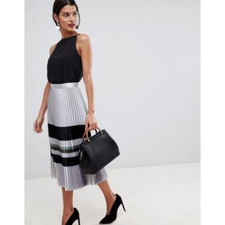 リース(REISS)のキャサリン妃愛用ブランドREISS リーススカート UK10(ロングスカート)