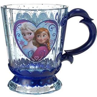 アナトユキノジョオウ(アナと雪の女王)のディズニーUSAショップ限定‼︎『アナと雪の女王』デザインのメラミンカップ(グラス/カップ)