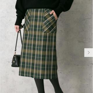 ロッソ(ROSSO)のROSSO チェックタイトスカート アーバンリサーチ(ひざ丈スカート)