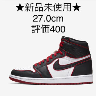 ナイキ(NIKE)の27 AIR JORDAN 1 RETRO HIGH OG bloodline(スニーカー)