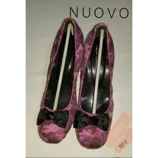 ヌォーボ(Nuovo)の値下げ♥️靴【未使用】NUOVO  ヌォーボ パンプス   L  (ハイヒール/パンプス)