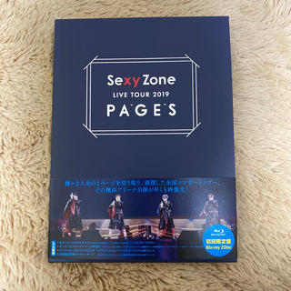 Sexy Zone - Sexy Zone LIVE TOUR 2019 PAGES(初回限定盤Blu-