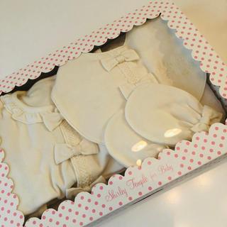 シャーリーテンプル(Shirley Temple)の新品 シャーリーテンプル 出産祝いセット 新生児(ロンパース)