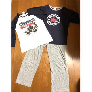 コンバース(CONVERSE)のコンバース パジャマ 半袖 長袖 ズボン 3点セット(パジャマ)