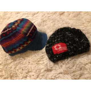 DIESEL - ディーゼル イエローフェイス 帽子セット
